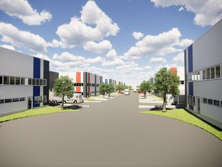 Neubau Gewerbehallen in verkehrsgünstiger Lage von Steinhagen