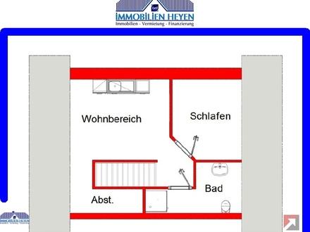 !!!Schöne Dachgeschosswohnung in zentraler Lage von Aschendorf!!!