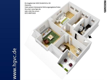 3 Zi. DG WE mit Dachterrasse, Bad m. Fenster, in ruhiger grüner Lage!