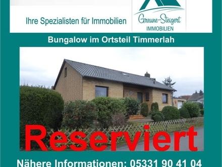 *** Bungalow im Ortsteil von Braunschweig