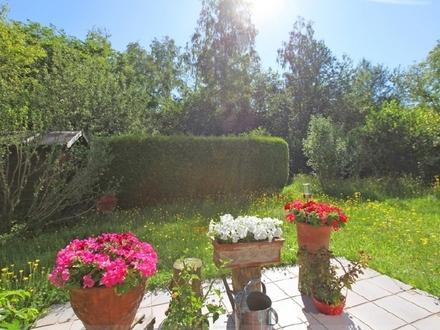 Vermietete 2-Zi.-Maisonette-Whg. mit 2 Terrassen und eigenem Garten direkt am Wald