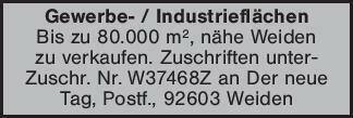 Gewerbe- / IndustrieflächenBis...
