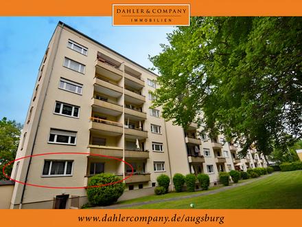 Gut geschnittene 3-ZKB-Wohnung mit Balkon in Augsburg