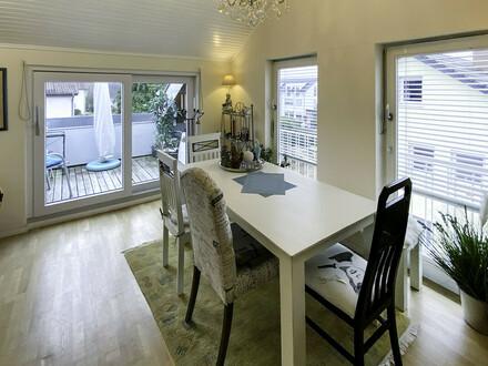 Gemütliche 3-Zimmer-Dachgeschoss-Wohnung in Tettnang