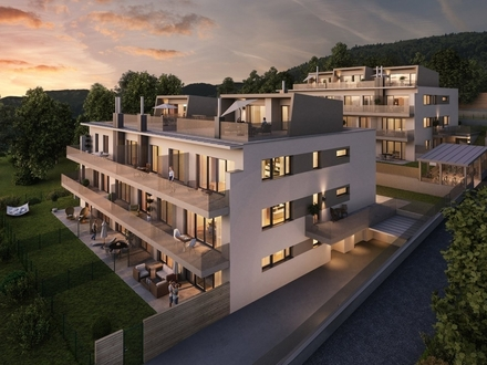 Freiflächen in 3 Himmelsrichtungen - Top Gartenwohnung in Purkersdorf