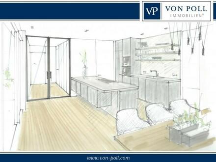 Bielefeld-Mitte: Neubau Penthouse-Wohnung | 3 Zimmer | Dachterrasse | TG-Stellplätze | Einbaumöbel
