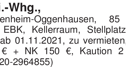 3-Zi.-Whg.,Heidenheim-Ogg