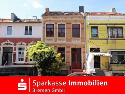 Neustadt! Sanierungsbedürftiges Altbremer Haus mit viel Charme