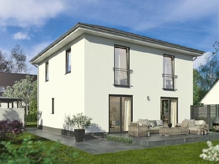 Freistehendes, modernes Einfamilienhaus (Neubau) von Town + Country in Halle zu verkaufen.