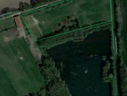 Verkauf von einer 1,75 ha Grünlandfläche in Wardenburg/Westerburg unmittelbar an einem Teich!