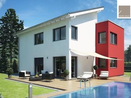 Überzeugende Architektur mit viel Freiraum für die ganze Familie! (inkl. Grundstück)