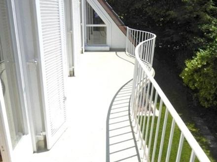 2-Zi.-Wohnung mit Balkon in Gräfelfing - möbliert in traumhafter Lage