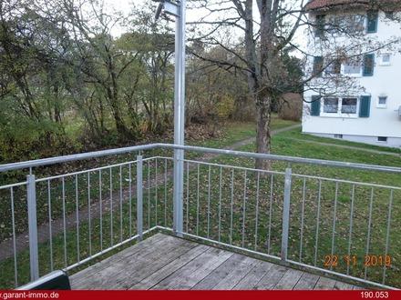 Nette 2 Zimmer-Wohnung mit Balkon