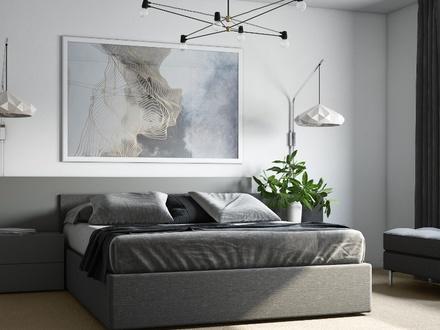 03 Visualisierung Schlafzimmer