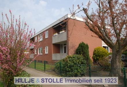 Helle 3 ZKB - Wohnung mit Balkon und Garage im Oldenburger Ehnernviertel!