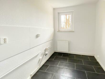 Helle, geräumige 2 Raumwohnung mit Blick ins Grüne und Einbauküche