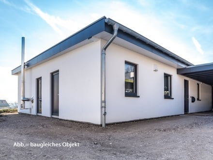 """""""Holzwert-Bungalow"""" vom Zimmermeister als Ausbauhaus!"""