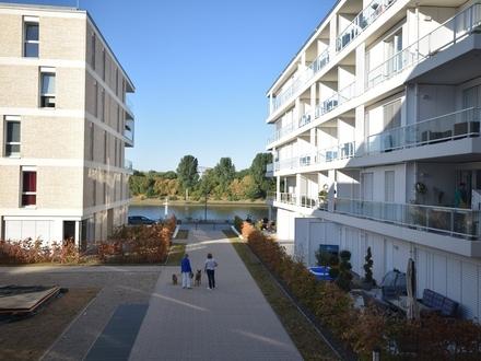 Im 1. Monat mietfrei ! Tolle Neubau-Wohnung mit direktem Weserblick