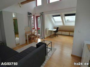 ***ideal für Pendler, möbliertes Apartment in absolut ruhiger Lage