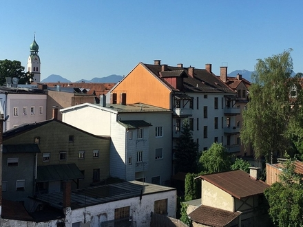 Wohnen der Extraklasse: Dachterrassenwohnung in der City!