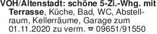 VOH/Altenstadt: schöne 5-Zi.-W...