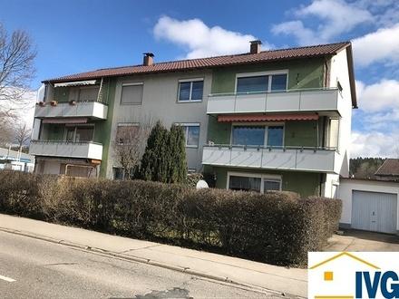 Sonnige 3-Zimmer-Eigentumswohnung mit Balkon und Einzelgarage in Leutkirch!