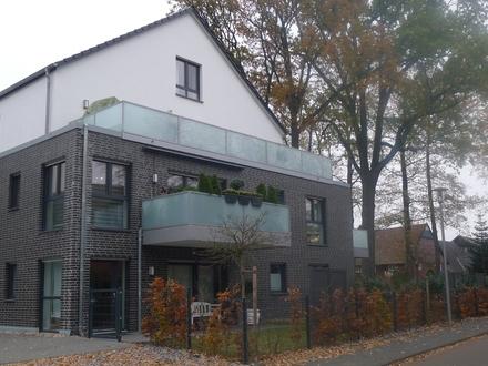Moderne Neubauwohnung im 1.OG mit Fahrstuhl und schönem Balkon in Gütersloh