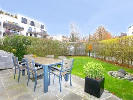 Neue barrierefreie 4-Zi.-Whg., zwei Terrassen, zwei Gärten, direkt an der U-Bahn-O'Sendling