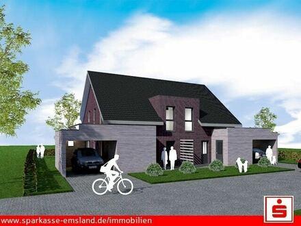 Moderne Doppelhaushälften in einer ruhigen Lage