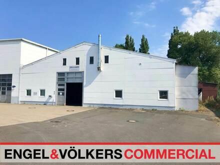 Gut gelegene Produktions- und Gewerbehallen