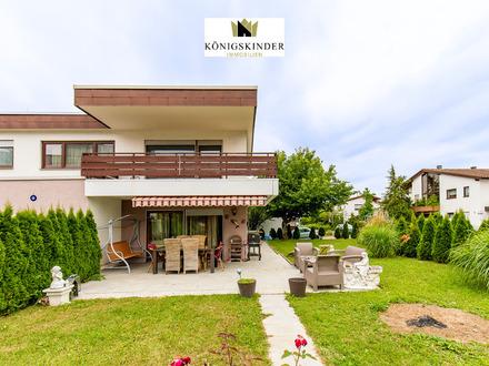 Großzügiges Einfamilienhaus mit gepflegtem Garten und Gewerbeeinheit in Großbettlingen