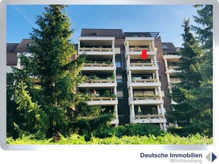1- Zimmer Appartement (4.OG) in S- Weilimdorf