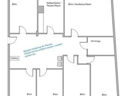 ► 360° Besichtigung: Voll-Klimatisierte Büro / Praxis Räumlichkeiten ◄