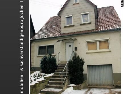 Kleines Haus mit Scheune in Tüngental