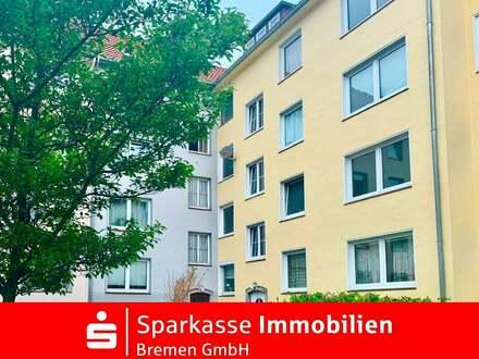 Bremen-Bahnhofsvorstadt: Gut geschnittene drei Zimmer Wohnung in zentraler Lage