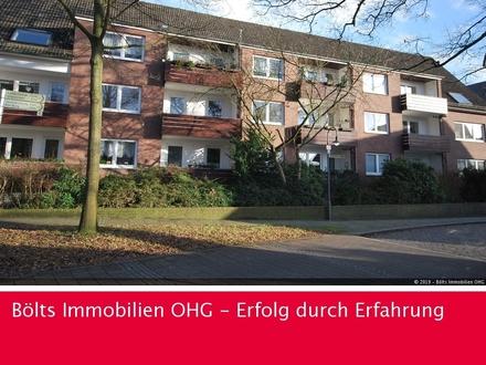 Äußerst ansprechende 3-Zimmer-Wohnung mit Balkon Nähe Lesumer Kirche