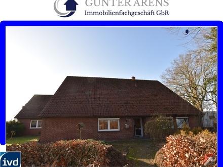 3 Zimmer-Erdgeschosswohnung mit Garten in Westerstede - Hollriede