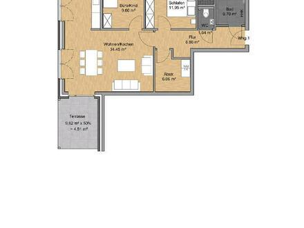 Neubauprojekt: Tolle Erdgeschosswohnung