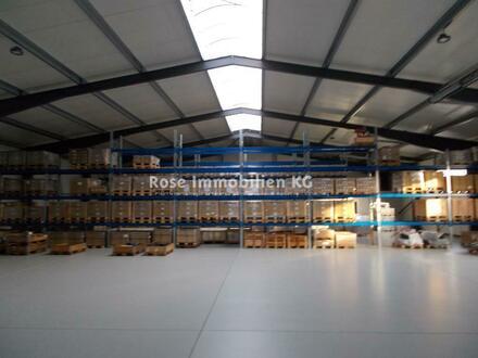 ROSE IMMOBILIEN KG: Neue Lager-/ Produktionshalle mit 2 großen Sektionaltoren!