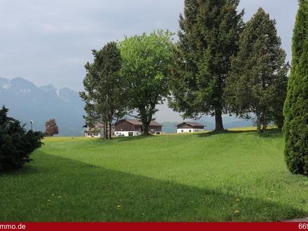 Absolute Ruhelage: 4 Zimmer-Terrassen/Souterrain-Wohnung in Inzell