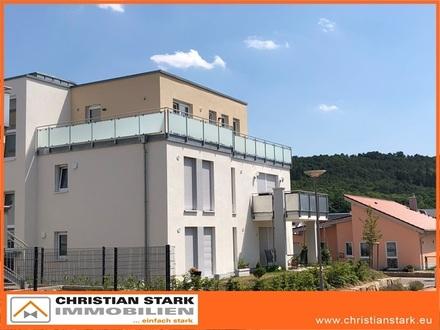 Provisionsfrei: Penthaus mit unverbaubarer Aussicht, incl. Sauna, TG-Platz und PkW-Stellplatz!