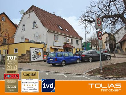 MFH mit 4 Wohnungen+1 Gewerbefläche, 2 Garagen -Ideal für Kapitalanleger und Investor