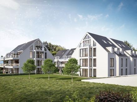Wunderschöne Dachgeschoss-Wohnung über 2 Ebenen in Lindau
