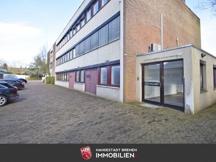 Gartenstadt Vahr / Zentral gelegene Bürofläche mit ca. 136 m² großem Lager und guter Anbindung