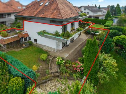 "Immobilien-Juwel in Tettnang – Garten-Maisonette ""das Haus im Haus"""
