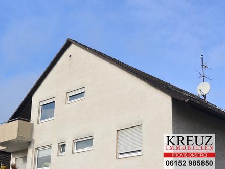 Anlage, vermietete 2 Zimmer Dachgeschosswohnung, PROVISIONSFREI
