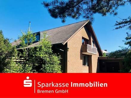 Interessantes Ein- bis Zweifamilienhaus mit viel Platz in ruhiger Wohnlage in Weyhe
