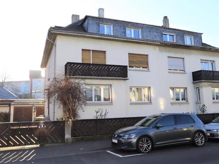 Gut geschnittene 3- Zimmer-Erdgeschoss-Wohnung in ruhiger und gefragter Lage von Frankfurt-Höchst