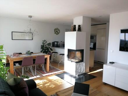 Von Privat: Exklusive 4-Zimmer-Maisonette-Wohnung am Schlossberg