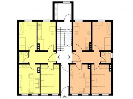 Welche Wohnung wählen Sie?